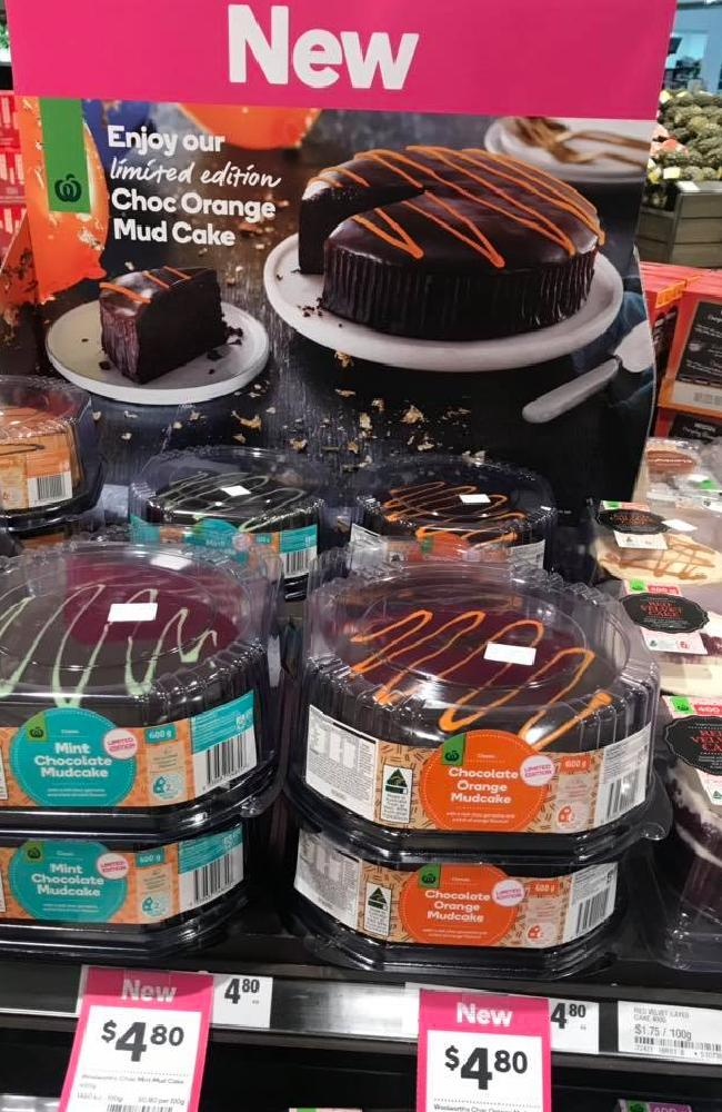 Hundreds of Aussies everywhere are excited about the launch of the Choc Orange mud cake. Picture: Oh So Busy Mum