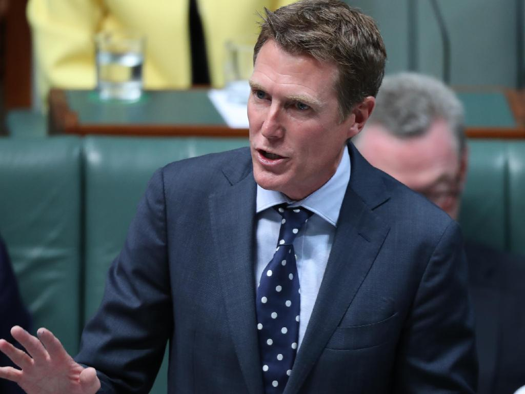 Attorney-General Christian Porter, pictured, is being urged to intervene to have the charges dropped. Picture: Gary Ramage