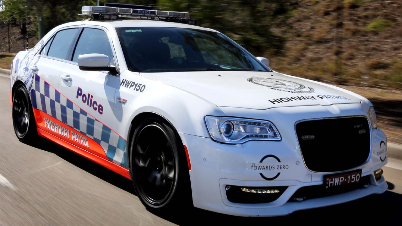 NSW Police use the Chrysler SRT Core as well as the BMW 5 Series for its highway patrol vehicles.
