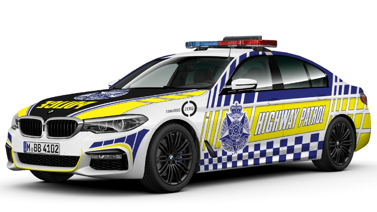 The Tesla will join the Victoria Police BMW 530d highway patrol car on active duty.