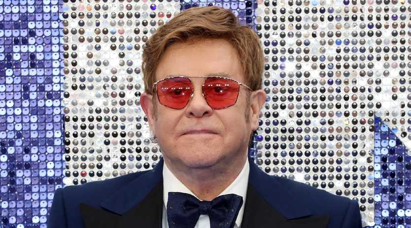 Elton John has hit out at Russia after they released a censored version of his biopic, Rocketman. Picture: Getty Images