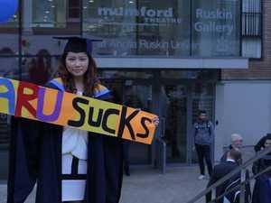 Student scores $111k over useless degree