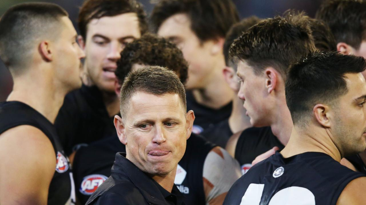 Carlton has sacked coach Brendon Bolton. Picture: Michael Dodge/AFL Photos/Getty Images.