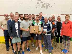 Squash club loses 'Ashes' by one game