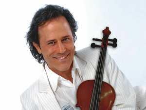 Violin sensation Martin Lass set to wow Caloundra audience