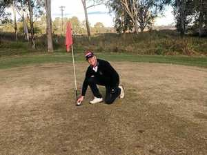 Monto golfer celebrates 'miracle' hole in one shot