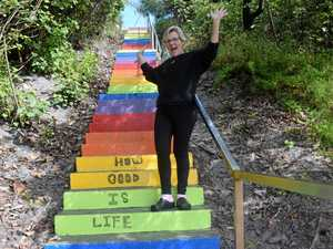 Will the famous Rainbow Beach stairs message be no more?