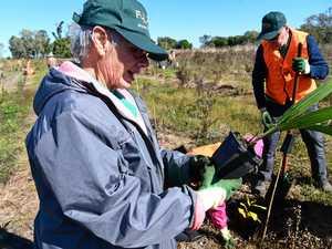 Locals dig deep to ensure a green future