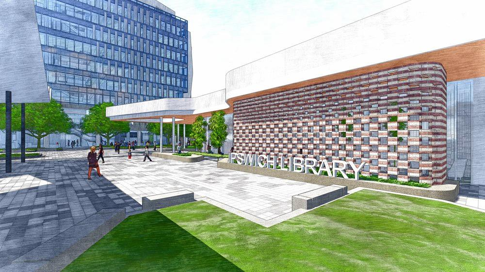 Hutchinson Builders was today announced the preferred tenderer to construct a new council building, a new library building and a civic plaza at the end of Nicholas St. Library