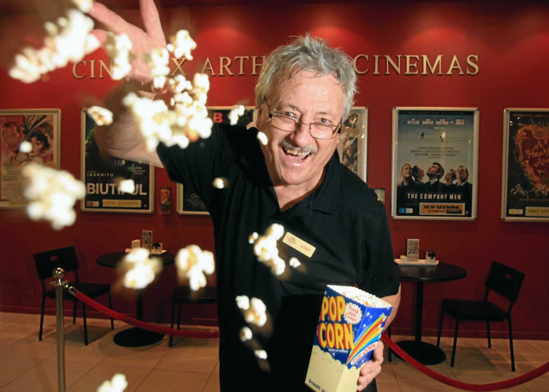 Stephen Buge at Kingscliff Cinemax Cinema.