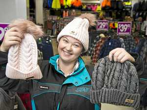 Beanies for Brain Cancer fly off Toowoomba shelves