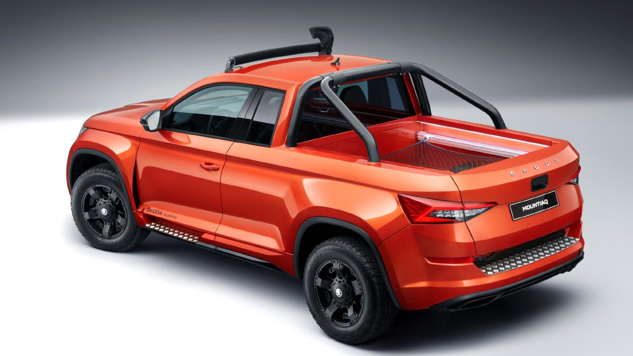 Skoda's Mountiaq concept was built by the Czech brand's apprentices.