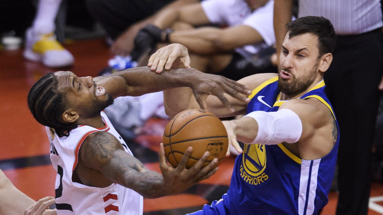 Andrew Bogut made an impact in game two of the NBA Finals.