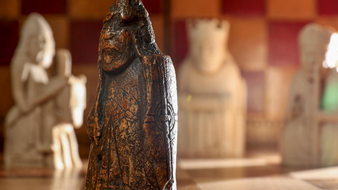 An antique dealer kept a chess piece in a drawer for almost 60 years. Now the Sotheby's have valued the item at 1.8 million dollars. Picture: Tristan Fewings