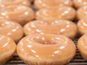 Krispy Kreme is giving away doughnuts