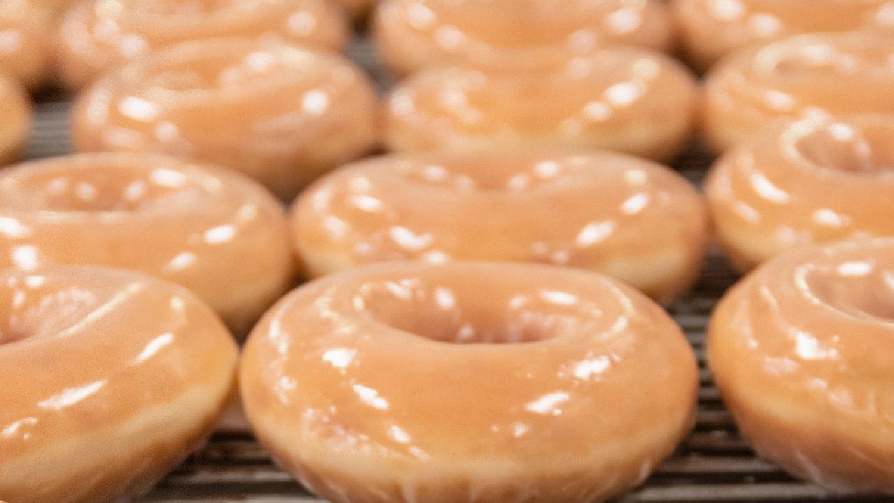 Krispy Kreme has 100,000 free doughnuts to give away.