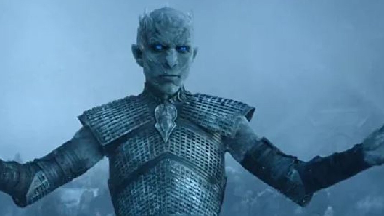 The Night King aka Vladimir Furdik in Game of Thrones