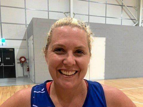 AUSSIE MILESTONE: Goodna Sapphires captain Robyn Walsh.