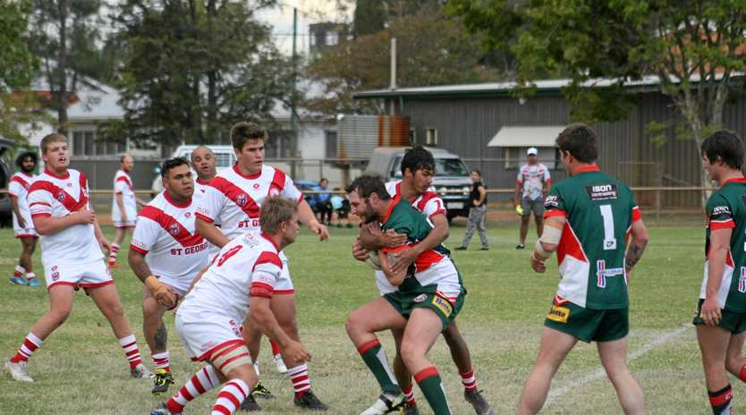 GAME DAY: St George Saints defeated Chinchilla 64-14 in A Grade.