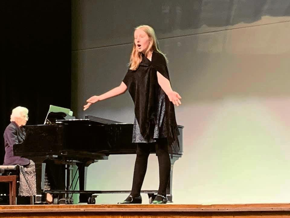 BILOELA EISTEDDFOD: Ruby Johnston performing 'When you Wish Upon a Star' at the 2019 Biloela Eisteddfod.