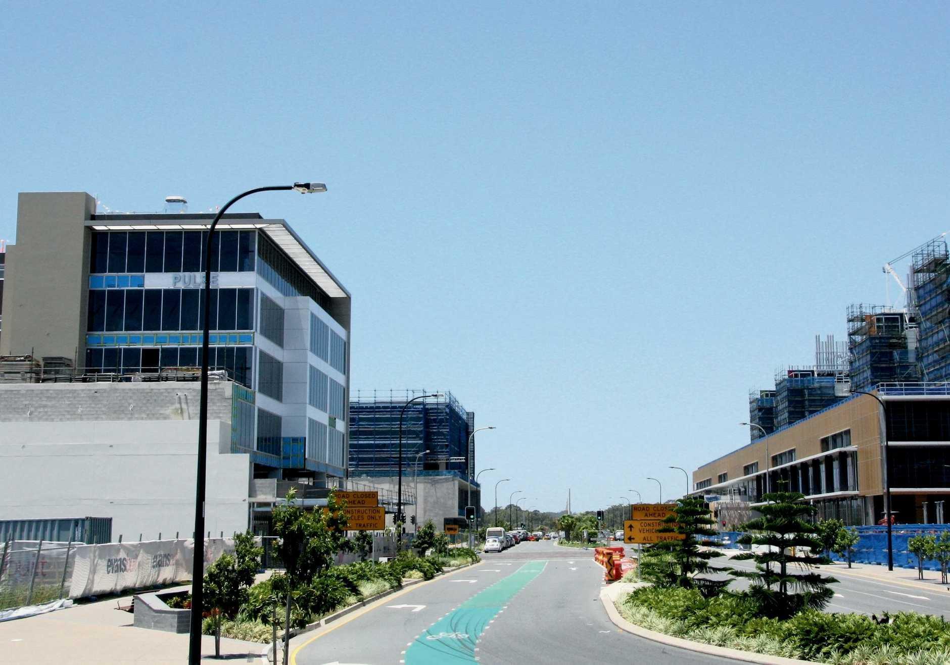 Pulse Medical and Sunshine Coast Public University Hospital at Birtinya Photo Erle Levey / Sunshine Coast Daily