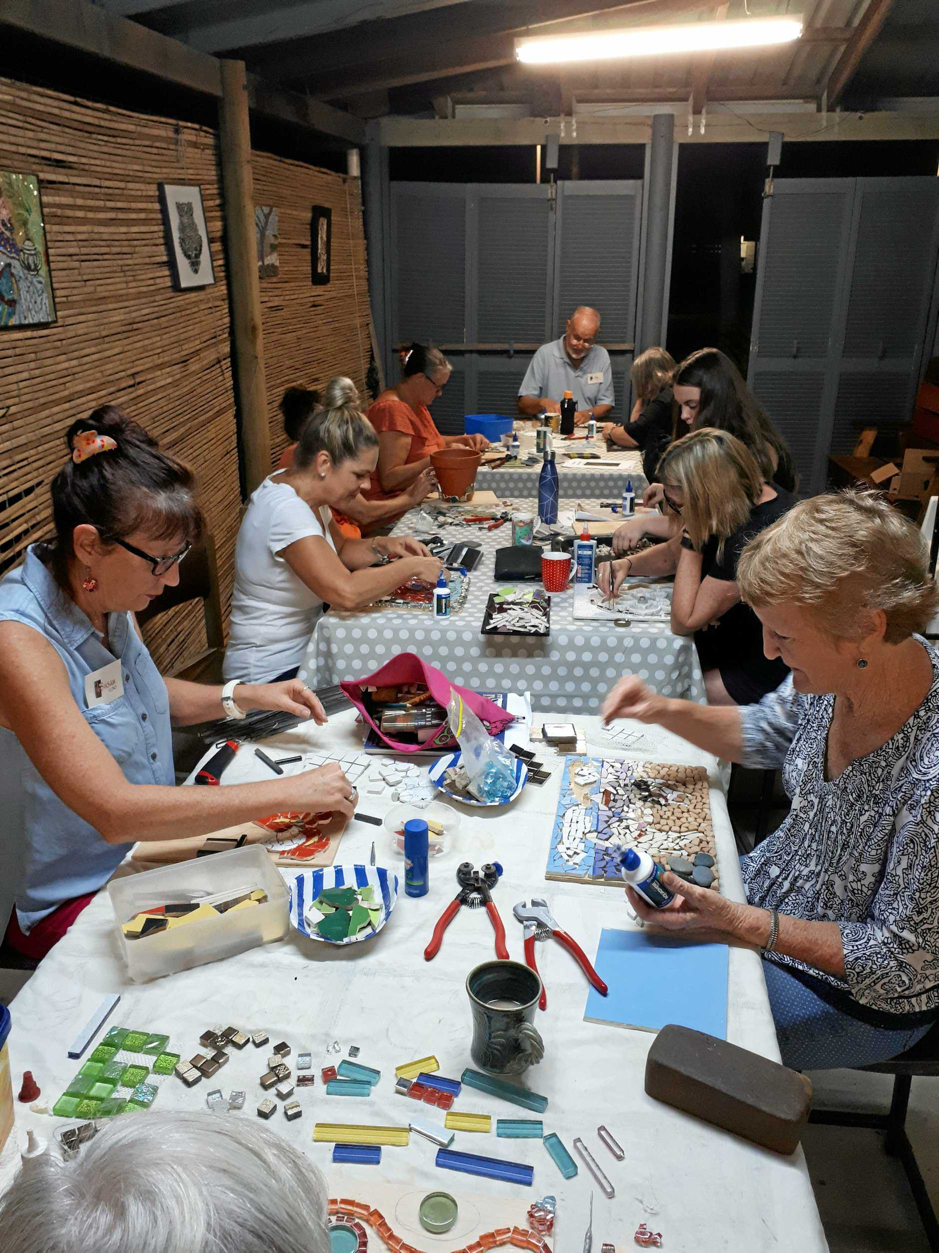 Workshops are a valuable asset to the Emu Park Gallery and participants
