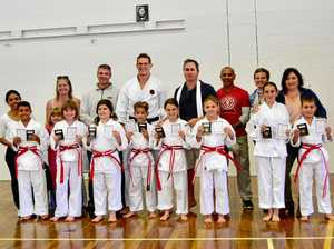 Students pass first grading at Suncoast Traditional Karate