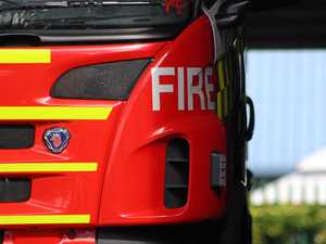 Wool catches fire in Clifton