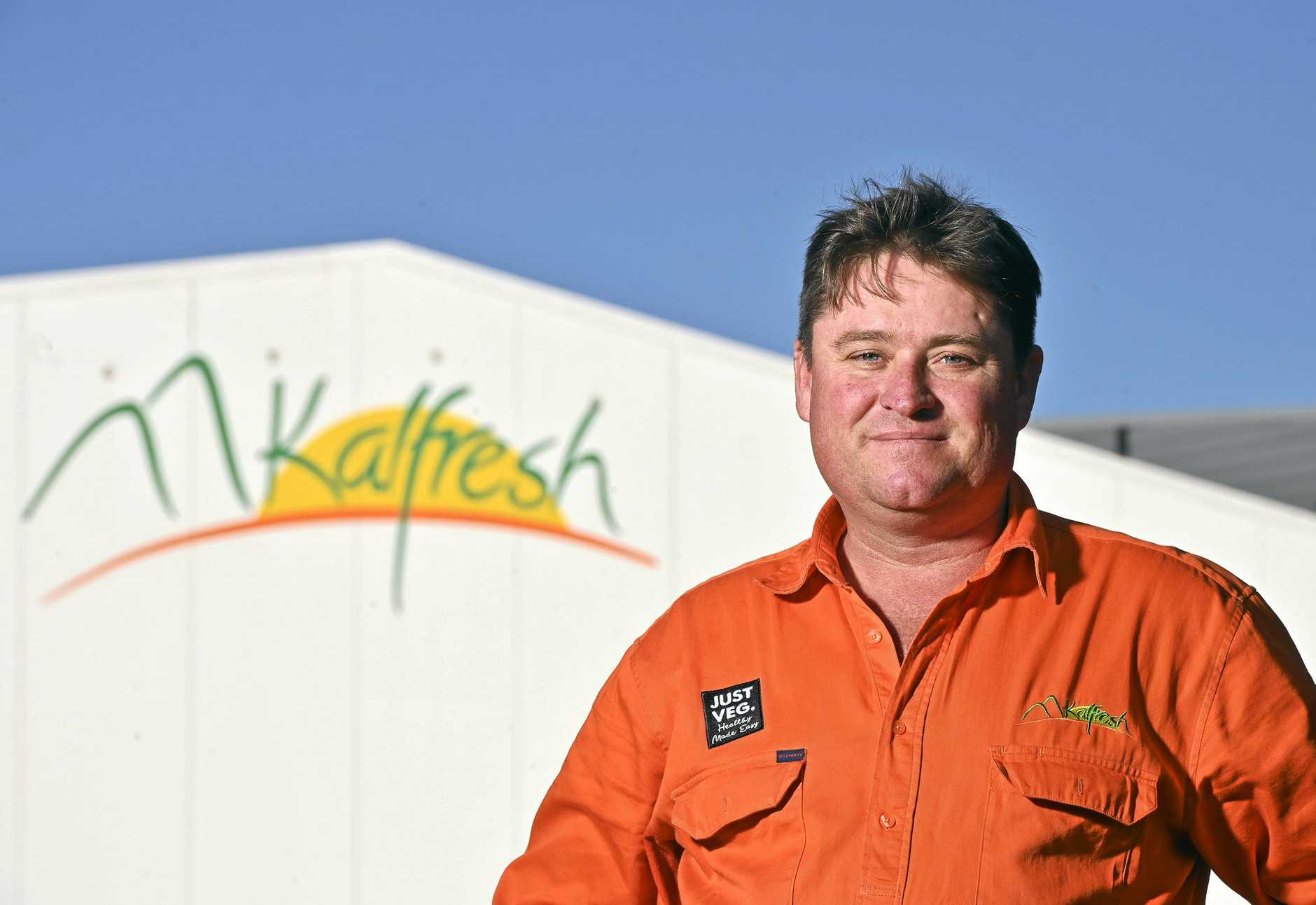 Kalfresh Managing Director Richard Gorman.