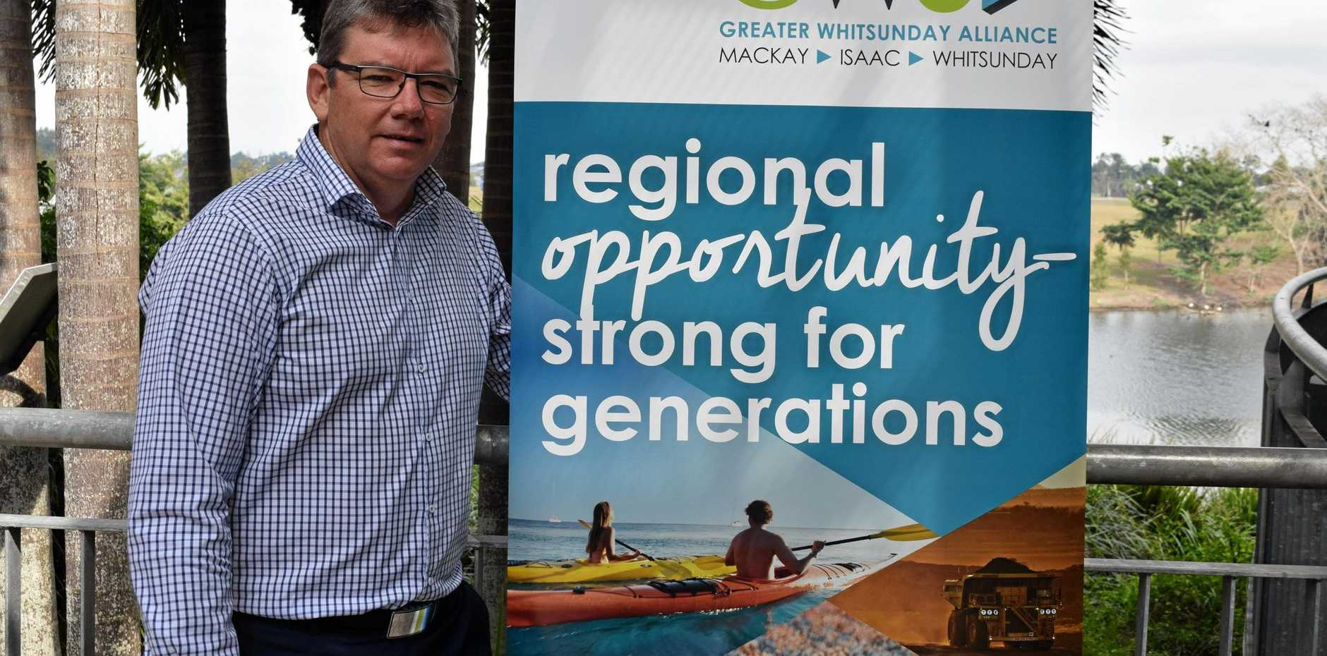 Greater Whitsunday Alliance CEO Garry Scanlan steps down.