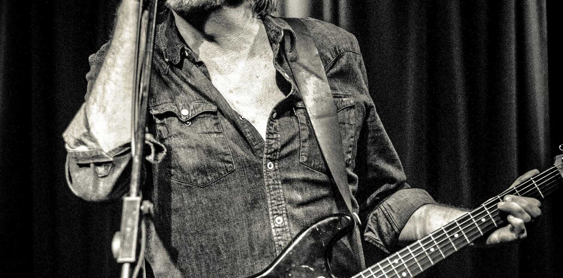 IN THE GROOVE: Australian music star Tex Perkins, known for his work with   The Cruel Sea, is headed to the Gympie Muster with Matt Walker and The Fat Rubber Band.