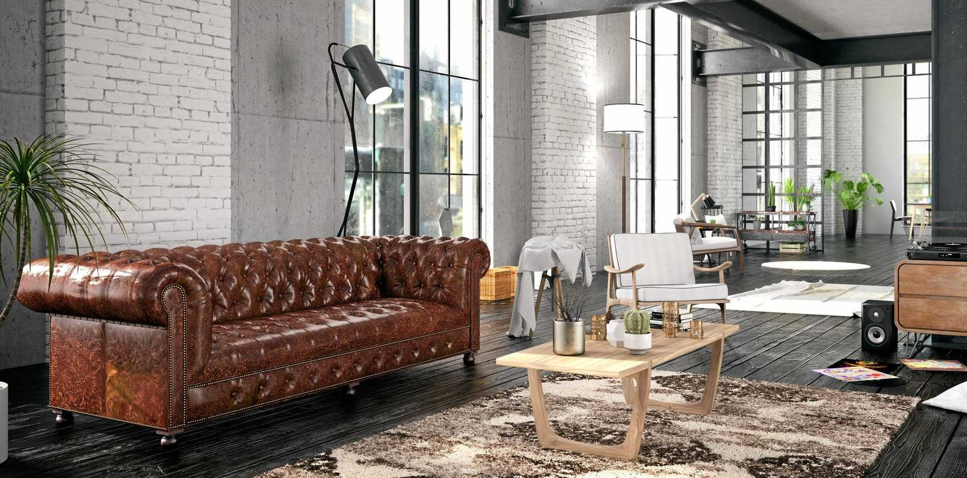 Many furniture designers now produce a variety of versions of the classic chesterfield.