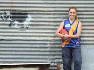Female Aussie rules player banned for playing with the boys