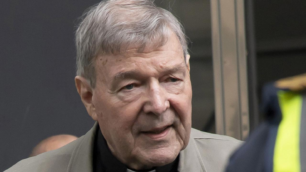 On Wednesday, Cardinal George Pell attended court for the first of his two day appeal. Picture: AP/Andy Brownbill
