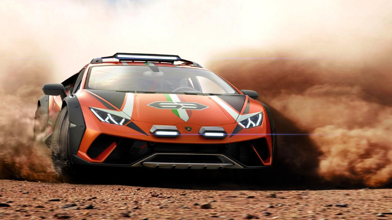Lamborghini Sterrato concept.