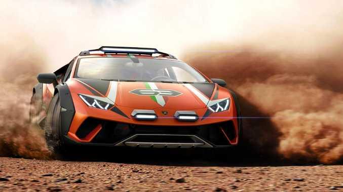 Shock supercar transformation