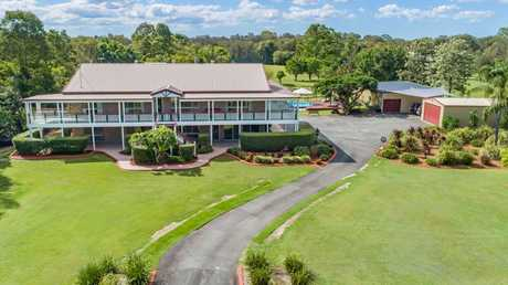 This five-bedroom house at 216 Beachmere Rd, Caboolture, is currently for sale.