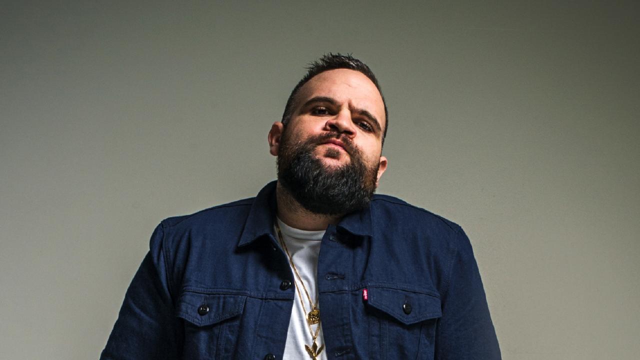 Rapper Briggs. Picture: Supplied