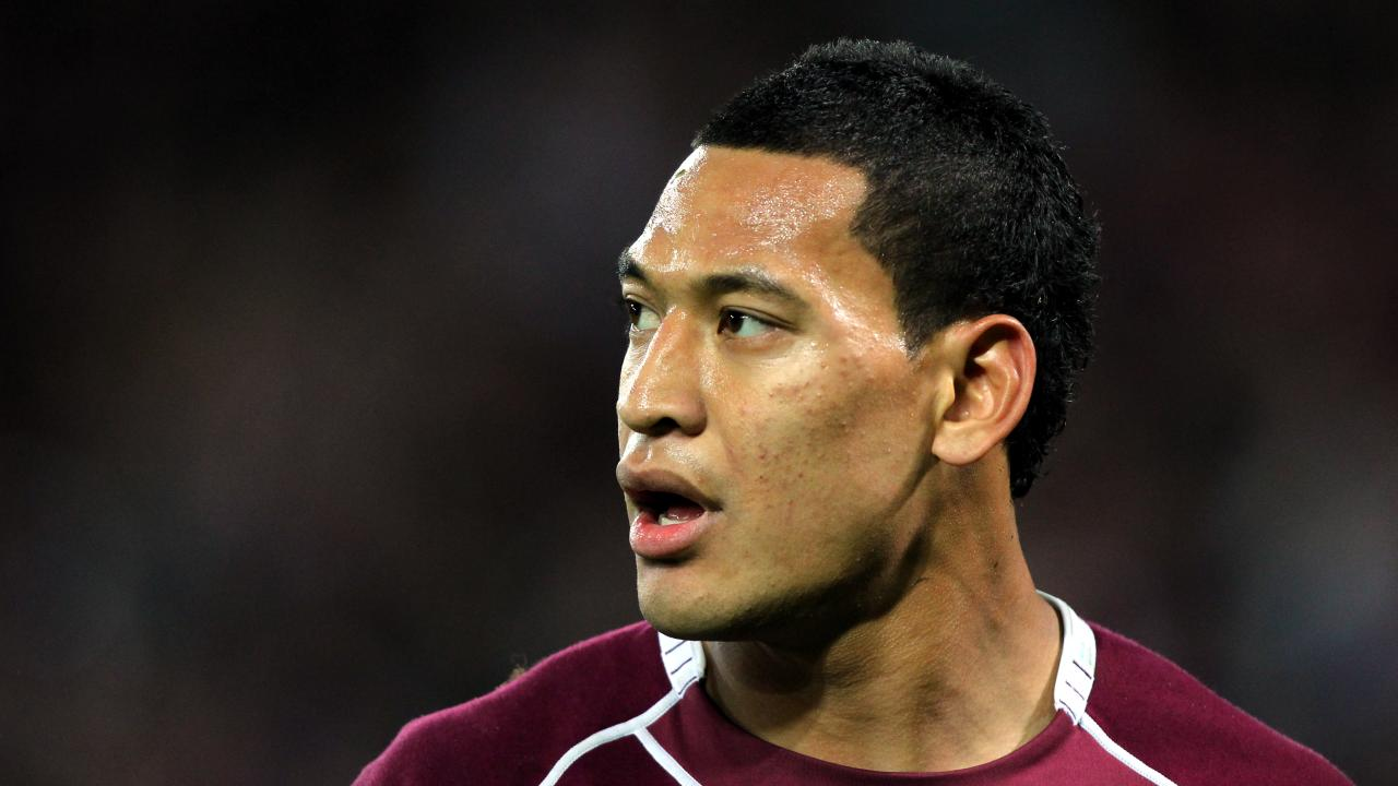 Israel Folau's potential return to rugby league has been killed off.