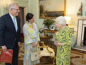 What ScoMo gave the Queen
