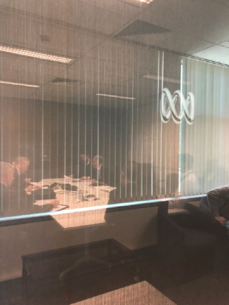 ABC offices in Ultimo. Source - ABC Twitter