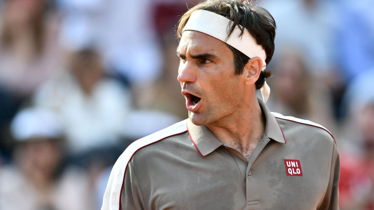 Roger Federer is in hot form heading into his clash with Rafael Nadal. Picture: Philippe Lopez
