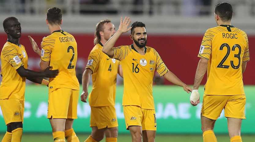The Socceroos could come up against Brazil and Argentina at the 2020 Copa America. Picture: Getty Images
