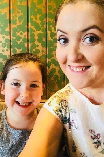 Stephanie with now-eight-year-old Lexie has had nine brain surgeries. Source: The Sun