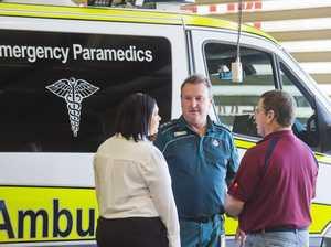 Union asks for paramedics