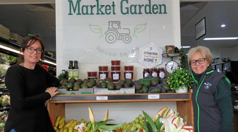 Mother and daughter partnership Ashleigh Shea and Monica Balzan own and operate Tewantin Market Garden.