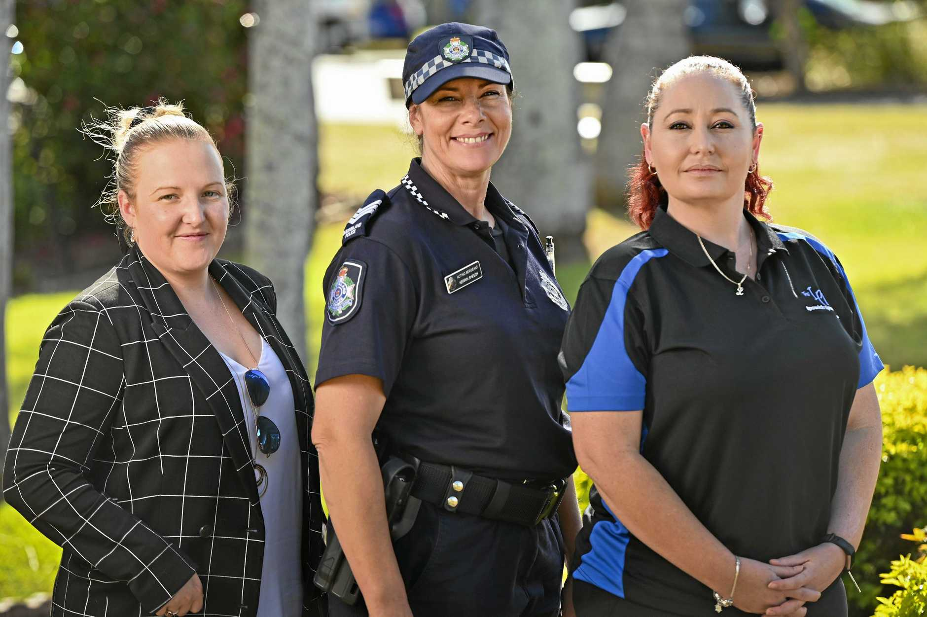 HEAD ALONG: Jessy Byrnes, Kerrin Sheedy and Linda Jensen are hoping to see a big turnout for the World Elder Abuse Day seminar in Leichhardt.