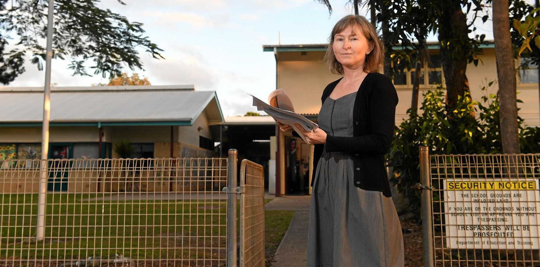 Lennox Head Public School P&C treasurer Sonja Maier is looking for answers about how the schools growing numbers will be catered for.
