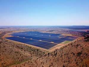 Solar farm boosts economy