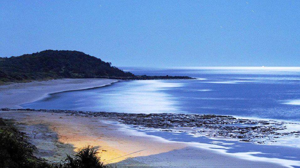 Lighthouse Beach at night Ballina .